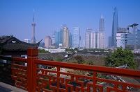 上海 浦東 ビル群