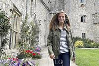 スペインのレオノール王女、イギリスに留学
