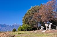 山梨県 原山神社 甲斐駒ケ岳