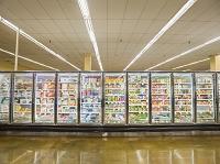 スーパーの陳列ケース