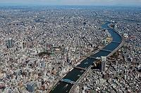 東京都 浅草から隅田川隅田公園