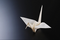 和紙 折り鶴 石州半紙