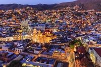メキシコ グアナフアト 町並み/俯瞰(ピピラの丘から撮影)/...