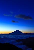 山梨県 富士川町 富士山