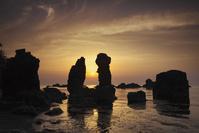 山口県 青海島の日没