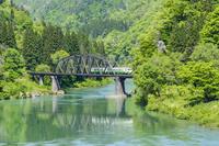 福島県 只見線 第四橋梁