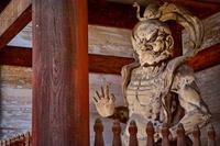 京都府 仁和寺 仁王像