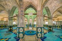 イラン カシャーン スルタン・アミール・アフマド公衆浴場
