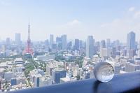 東京都 東京タワーと地球儀