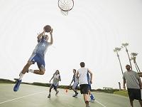 バスケの練習