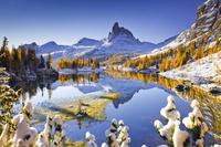 イタリア ドロミテ フェデラ湖