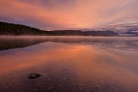 アメリカ合衆国 グレイシャー国立公園 マクドナルド湖