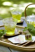 縁側の冷茶 夏の食