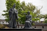 京都府 勝竜寺城公園のガラシャ像