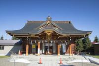 北海道 美瑛神社のハート型の意匠
