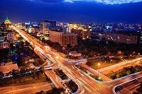 中国 北京 夜景
