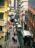 中国 香港 ヒルサイド・エスカレーター