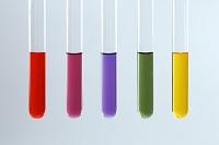 ムラサキキャベツ液の色変化