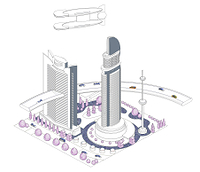 ブロックタウン未来都市 B-4