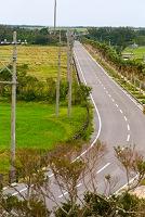 展望台から望む日本の道100選