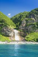 北海道 カムイワッカの滝