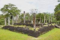 スリランカ ポロンナルワ遺跡 クワドラングル