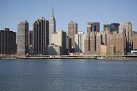 アメリカ合衆国 マンハッタンのビル群