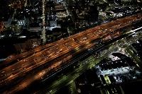 東京都 江東区 東雲付近の夜景