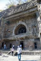 インド アジャンター石窟群 第26窟