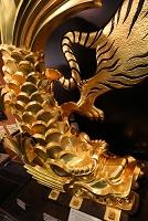 大阪府 大阪城 天守閣の鯱瓦のレプリカ展示