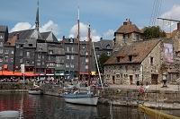 フランス オンフルールの港町