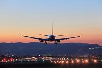 大阪府 飛行機の着陸