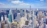 アメリカ合衆国 ニューヨーク マンハッタンの街並み
