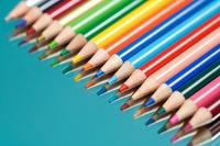 色鉛筆とグラデーション