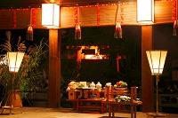 京都府 下鴨神社の仲秋の名月