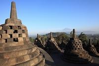 インドネシア ボロブドゥール
