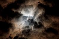 奈良県 奈良市 金冠日食