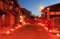長野県木曽町 木曽福島氷雪の灯祭り