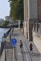 スウェーデン ストックホルムの自転車事情 自転車専用道路の通...