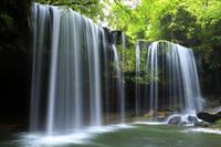 熊本県 鍋ヶ滝と新緑