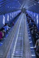 世界一長いエスカレーター 湖南省 中国