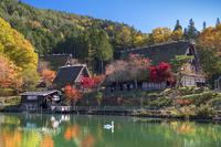 岐阜県 飛騨の里と秋