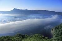北海道 霧の摩周湖