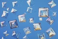 食塩の結晶
