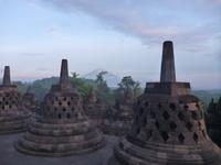 インドネシア、ボロブドゥール遺跡