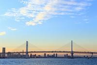 神奈川県 横浜ベイブリッジとみなとみらい