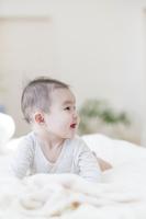 日本人の赤ちゃんの横顔