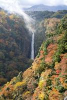 大分県 九重夢大吊橋より震動の滝を望む