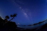 沖縄県 座間味村 天の川 阿真ビーチ
