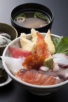 海鮮丼ぶり